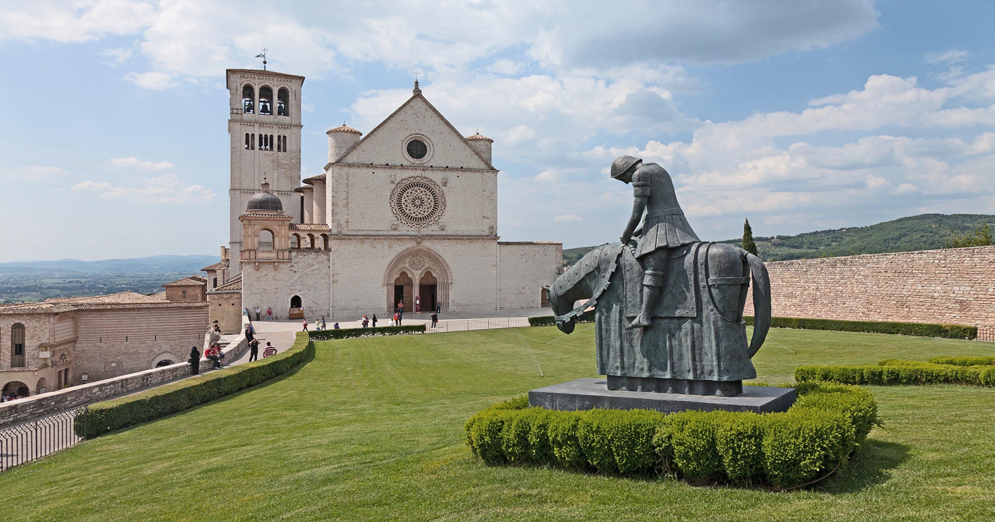 Saint Francis vs. Martin Luther
