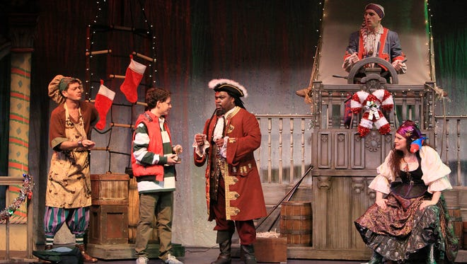 """""""Jingle ARRGH the Way,"""" a holiday pirate's tale, has its last two performances this weekend, December 22 and 24."""
