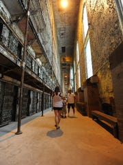 The Shawshank Trail was created in 2008 to allow fans of the film to experience self-guided tours of all the Shawshank filming sites, including the cell block at the Ohio State Reformatory.