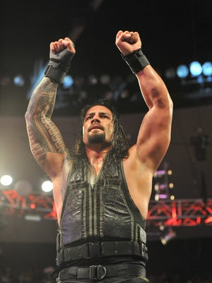 Wrestler Roman Reigns is considered one of the rising stars of the WWE.