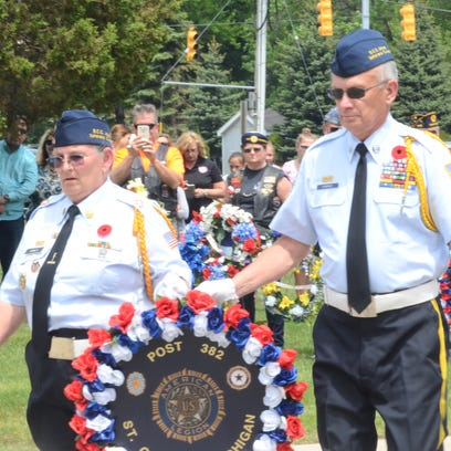 Members of the St. Clair County Allied Veterans Council