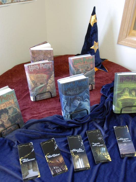 WRT 0713 Harry Potter books for discussion group