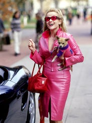 "Reese Witherspoon in ""Legally Blonde,"" a movie released"