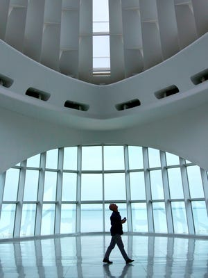 The Milwaukee Art Museum is likely to be busier Sept. 6, when it's the museum's Meijer Free First Thursday.