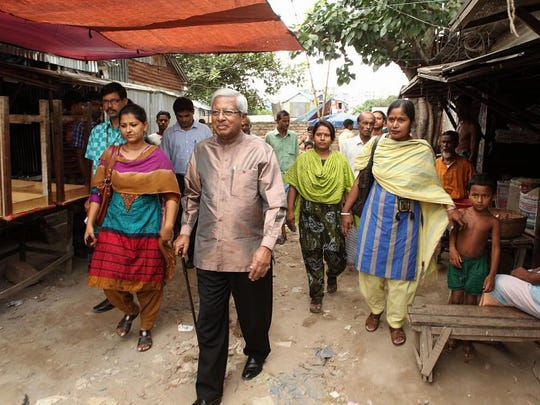 BRAC/Special to the RegisterFazle Hasan Abed, the chairperson of BRAC, visits a village in Savar Thana, Bangladesh. Abed was named the 2015 World Food Prize Laureate. Fazle Hasan Abed, the chairperson of BRAC, visits a BRAC Micro Finance Village Organization (VO) group in village in Savar Thana, Bangladesh. Abed was named the 2015 World Food Prize Laureate.