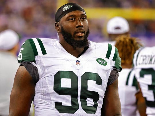 Muhammad Wilkerson of the New York Jets.
