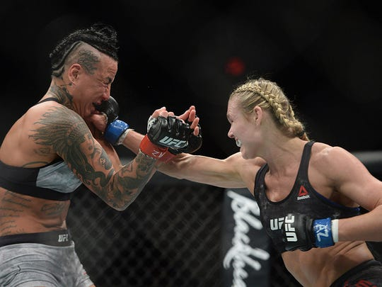 Shreveport's Andrea Lee is undefeated in three UFC fights entering Saturday.