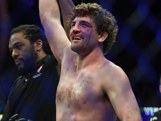 Ben Askren won his debut UFC fight on March 2 with a first round submission against Robbie Lawler.