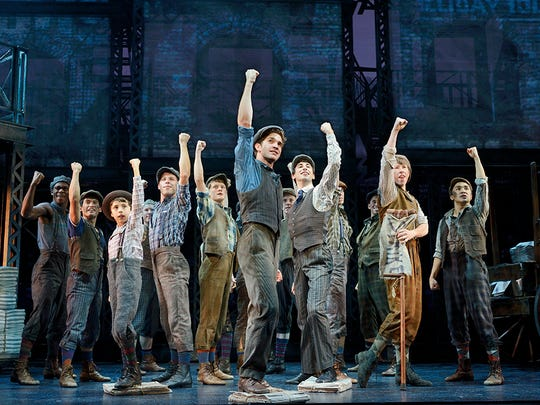 "Disney's ""Newsies"" will land at the Fox Cities Performing Arts Center in February 2016."