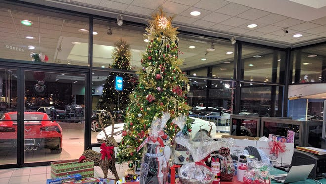 Toys for Tots received donations from members of the Garden City Business Alliance at its annual holiday party.