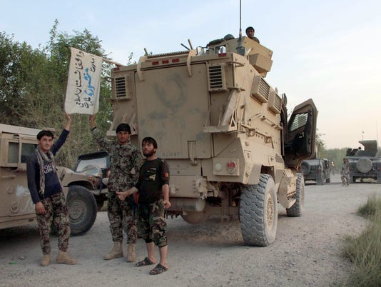 Afghan conflict/Helmand province