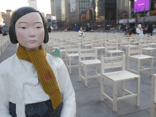 EPA SOUTH KOREA COMFORT WOMEN RALLY POL CITIZENS INITIATIVE & RECALL KOR