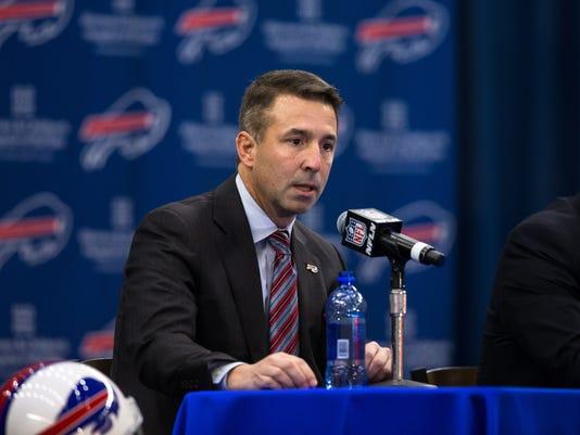Buffalo Bills Introduce Rex Ryan