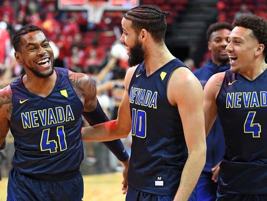 NCAA Basketball: Nevada at UNLV