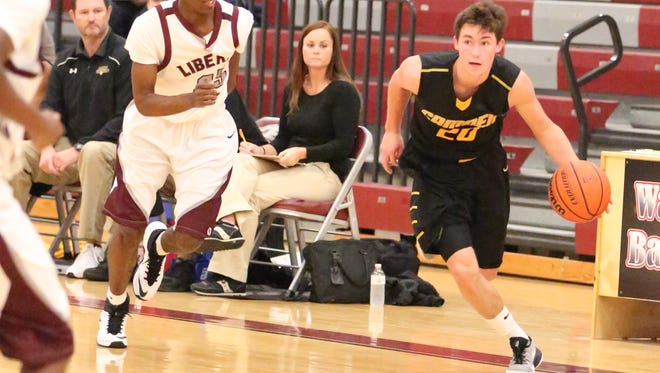Camden's Hunter Vick scored 93 points in three games this week.