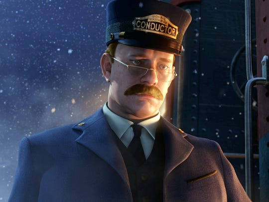 "A scene from ""The Polar Express,"" starring Tom Hanks."
