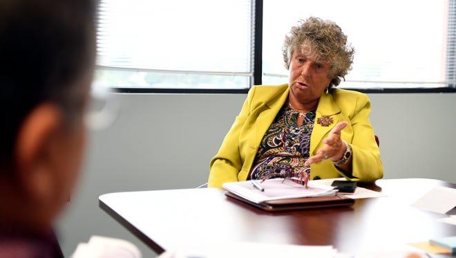 Paterson's acting schools superintendent. Eileen Shafer.
