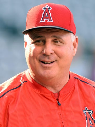 Mike Scioscia's influence waned slightly under Jerry
