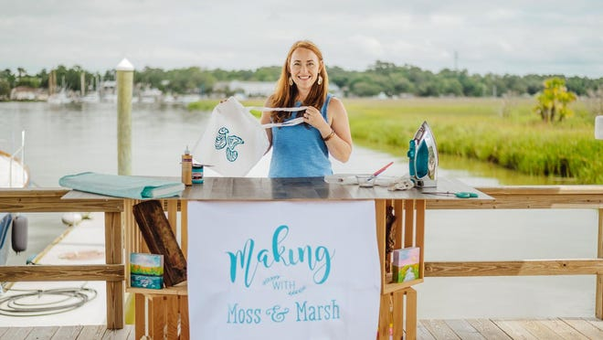 Savannah-based textile design house Moss & Marsh has announced a shift in branding along with a line of UV protective shirts and the launch of a community crafting show.