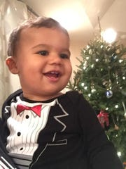 Frederick Lionel Thompson III, Jan. 11, 2015. Son of Stacy and Frederick Thompson.