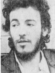Bruce Springsteen during a February 1973 interview