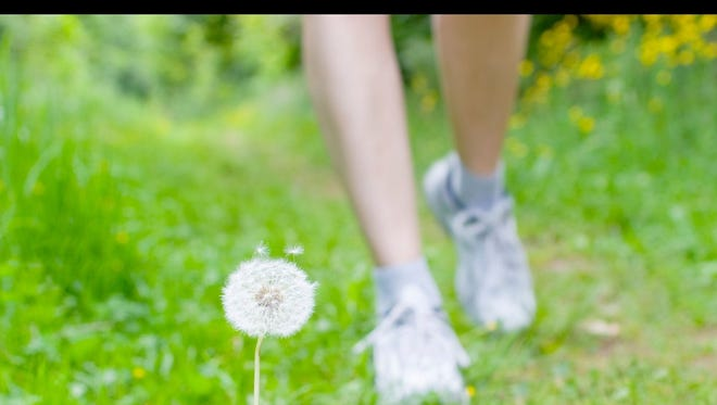 Experts say exercising does not need to stop even when suffering through seasonal allergies.