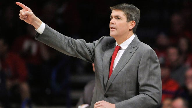 UNLV Rebels head coach Dave Rice has resigned, according to the school.