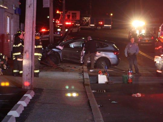 Pedestrian Hit by car in West Haverstraw