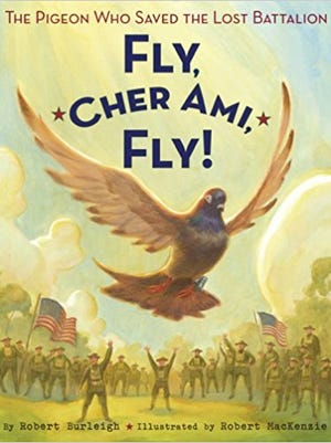 Cher Ami's feats during World War I have been documented in book and film.