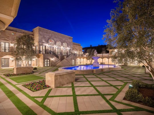 A look at Floyd Mayweather's newly built $10 million Las Vegas mansion