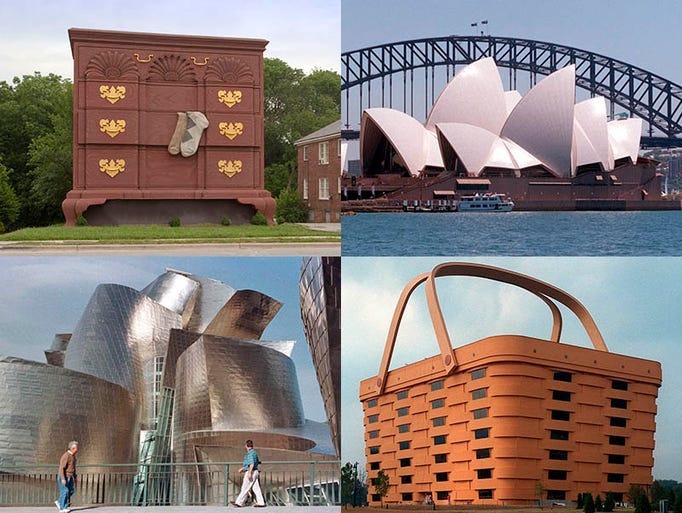 A gallery of eye-opping buildings from around the world.
