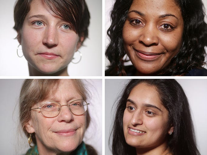 We asked women to show us their faces  —  without mascara,