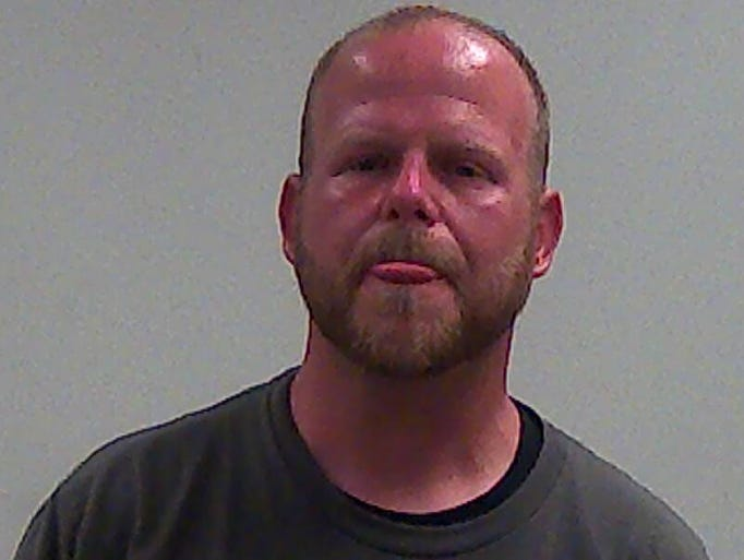 Jason M. Ehrlich, 38, white male, 5-10, 220 pounds.