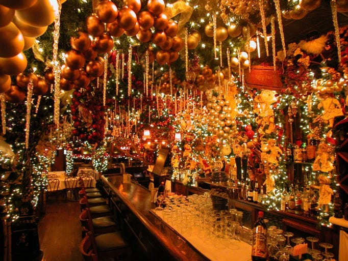Festive Restaurants In New York City During The Holidays