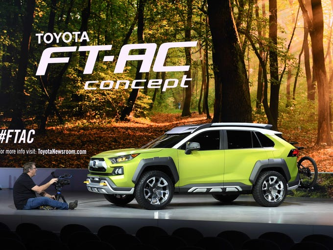 Toyota introduced the  FT-AC Concept SUV at the 2017