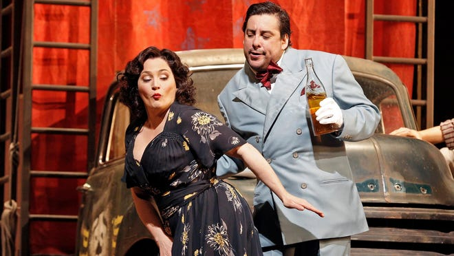 Met Opera HD performances of Cavalleria Rusticana/Pagliacci will be shown at noon, May 2, at the Acadiana Center for the Arts. Tickets are $20 and can be purchased on the AcA website.