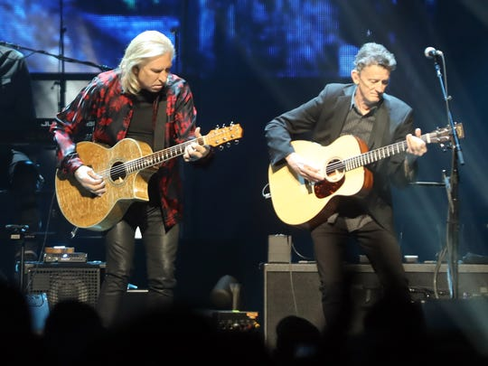 The Eagles perform at Bridgestone Arena Friday March