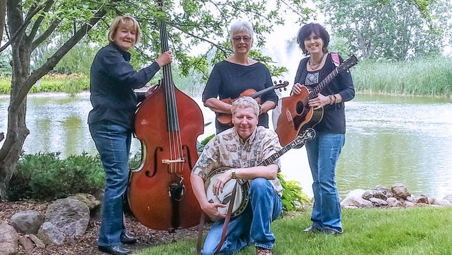 KR Bluegrass is one of three bluegrass bands that will perform at Kronforst Farms' annual music festival Bluegrass Under the Pines.