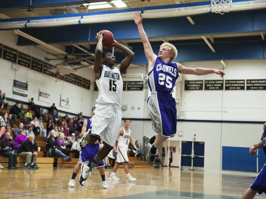 Brattleboro vs. Burlington Boys Basketball 12/19/15