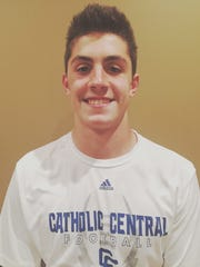 Catholic Central junior QB Marco Genrich was voted HomtownlifeSports.com's Athlete of the Week.