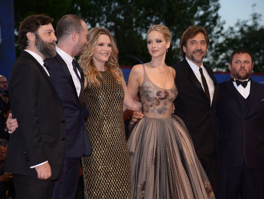 Cast of 'Mother!' at the Venice Film Festival