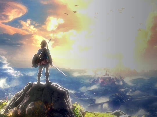 """With its embrace of open world and a new template that refreshes the series, """"Legend of Zelda: Breath of the Wild"""" is seen as a Game of the Year contender."""