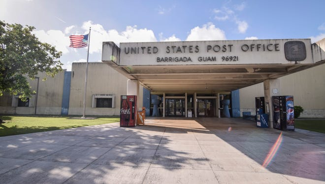 The U.S. Post Office in Barrigada is shown in this file photo.