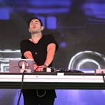 3LAU performs in the Boom Boom Tent on Saturday during the 2016 Hangout Fest.