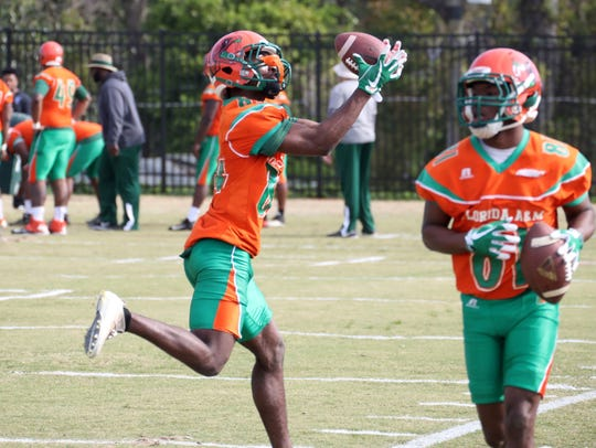 The FAMU Rattlers continue spring drills this week