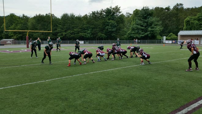 Owen hosted a youth football jamboree on Saturday.