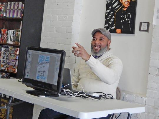 Graphic novelist Tim Fielder talks about about the
