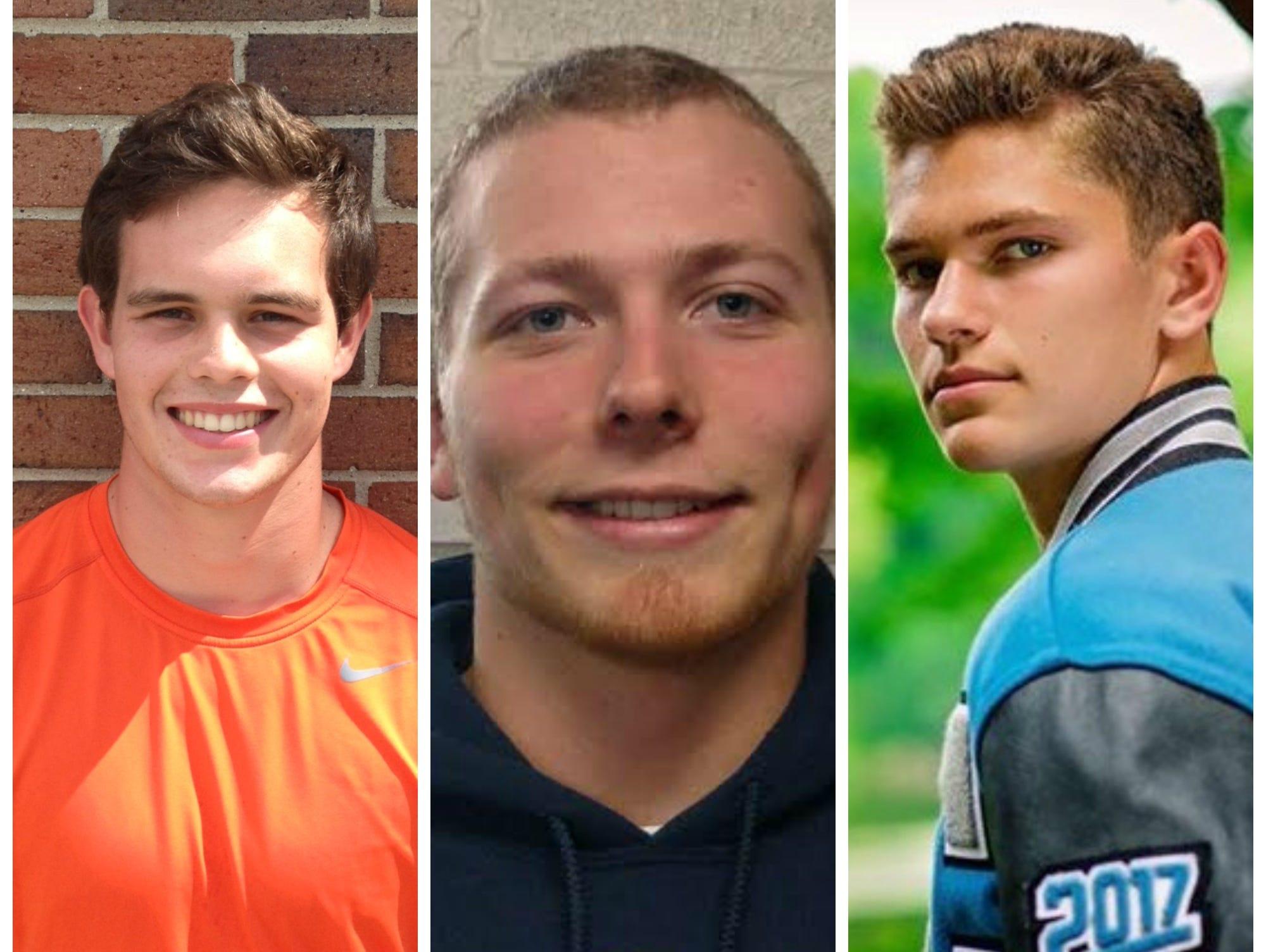 Stockbridge's Mason Gee-Montgomery, Pewamo-Westphalia's Jared Smith and Lansing Catholic's Konnor Maloney were among Friday's top performers.