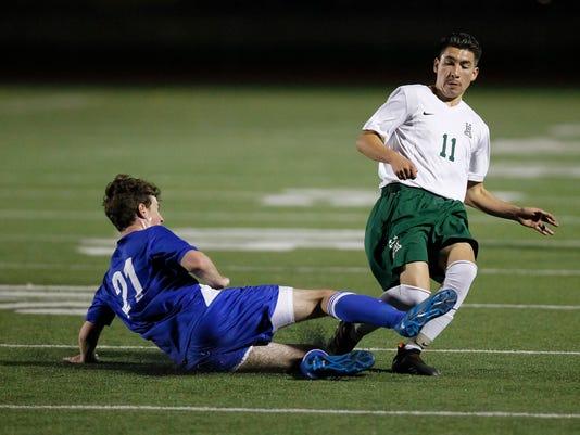CCS Soccer: Alisal Trojans vs. Los Altos Eagles