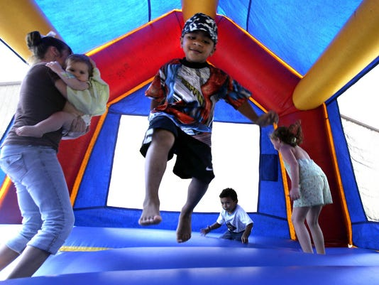 AP BOUNCE HOUSE INJURIES A HFR FILE MED USA TX